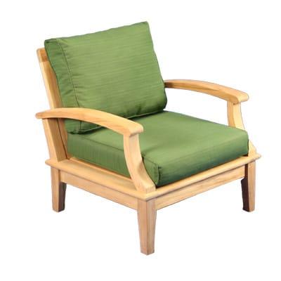 Teak Deep Seating Club Chair
