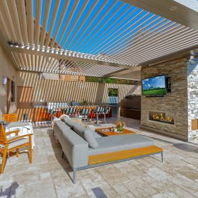 Arcadia Louvered Roofs