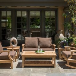 Outdoor Teak Deep Seating Set