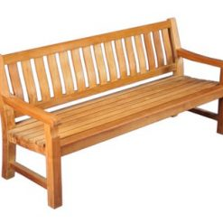 6' Commercial grade Outdoor Teak Bench