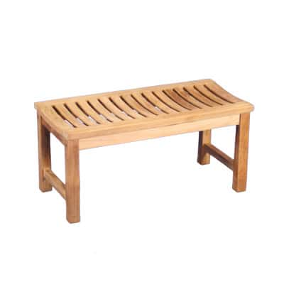 36 Outdoor Teak Backless Bench