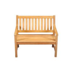 "42"" Outdoor Teak Bench"