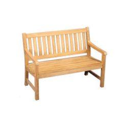4' Outdoor Teak Bench