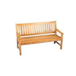 5' Outdoor Teak Bench