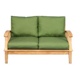 Teak Deep Seating Lover Seat