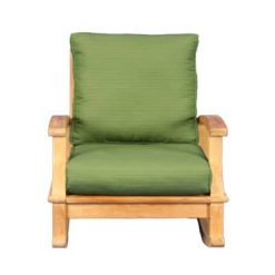 Outdoor Teak Deep Seating Chair