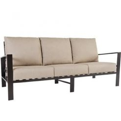 Gios Outdoor Three Cushion Couch, Furniture - Metal