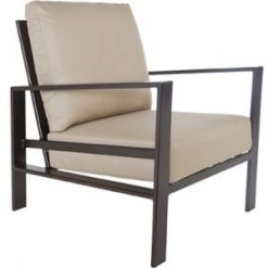 Gios Outdoor Chair, Four Legs - Metal