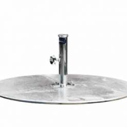 G Plate Circular, Sivler