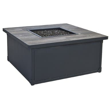 Creighton Collection Fire Pit, Black
