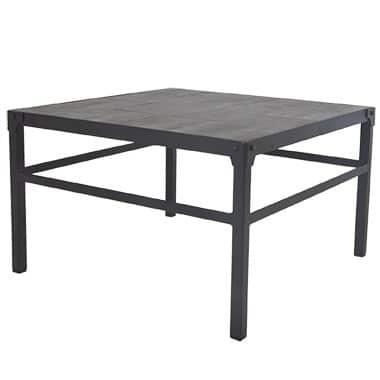 Metallic Black Modular Table Creighton Collection, Black