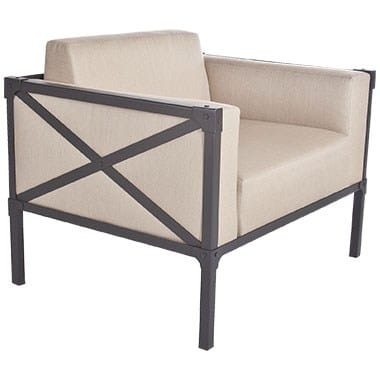 Creighton Collection Lounge Chair, Beige
