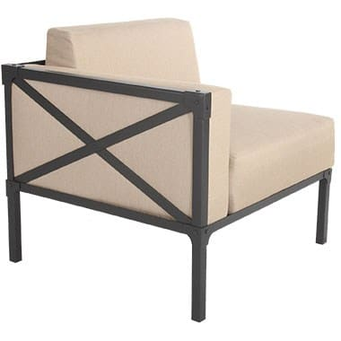 Creighton Collection Right Section Chair, Beige