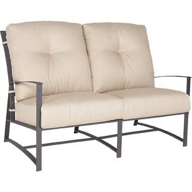 Ridgewood Collection Sofa, Two Cushion - Metal