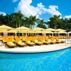 Tuuci Umbrella, Commercial Poolside - Orange
