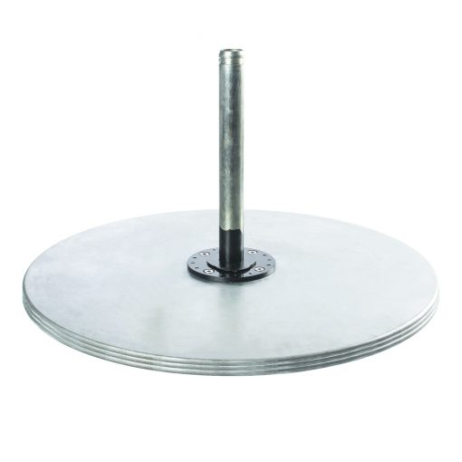 Outdoor Umbrella Base - Silver