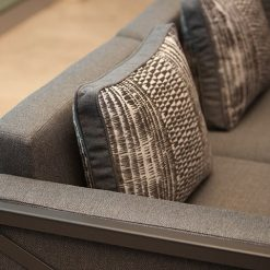 Creighton Collection, Sectional and Pillows - Grey