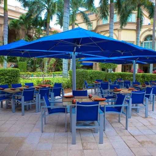 Tuuci Bay Master Shade Pod, Dining - Blue