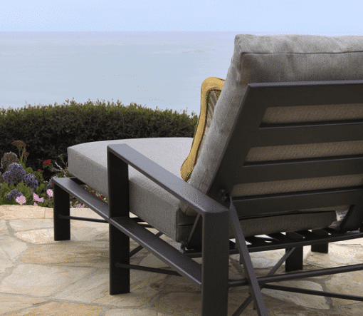 Gios Lounge Chair, Patio - Close View