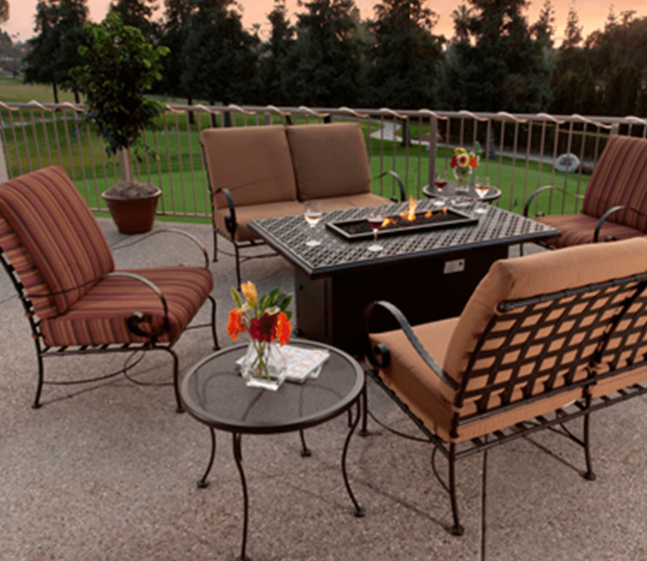 Ow Lee Outdoor Furniture, 7 Piece Set