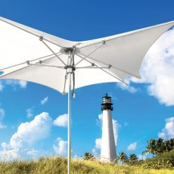 Tuuci Ocean Master Manta Umbrella, Commercial - White