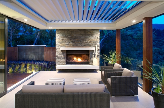 Struxure Louvered Roof, Residential Grade - Patio