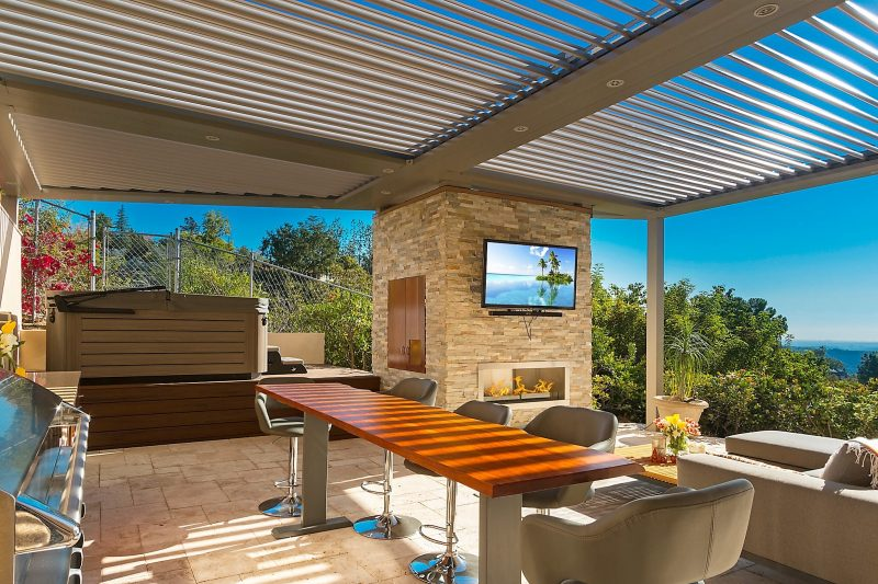 Struxture Louvered Roof, Residential Grade - Patio