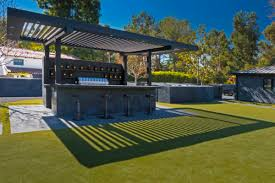 Arcadia Louvered roof over a bar