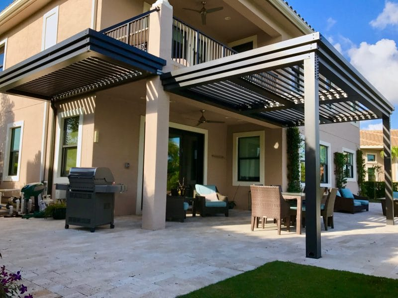 Struxure Motorized Louvered Pergola, Residential Grade
