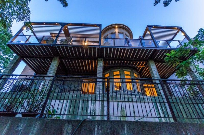 Struxure Aluminum Pergola, Residential Grade - Lower View