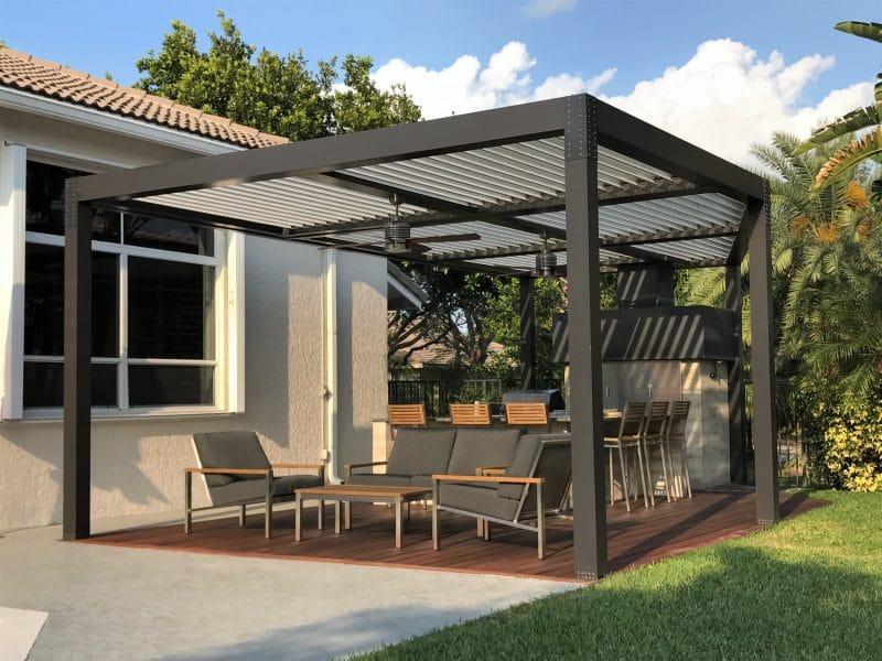 Struxure Aluminum Pergola, Residential Grade - Patio
