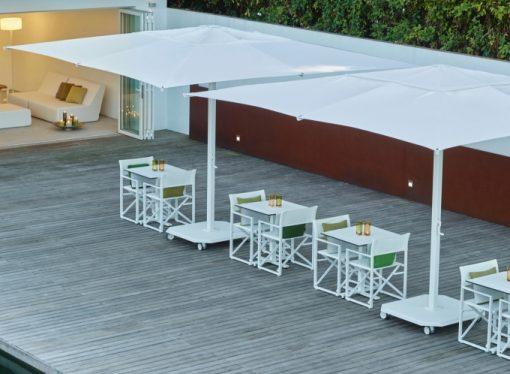Jardinico JCP.201 Center Pole, Commercial Grade - White