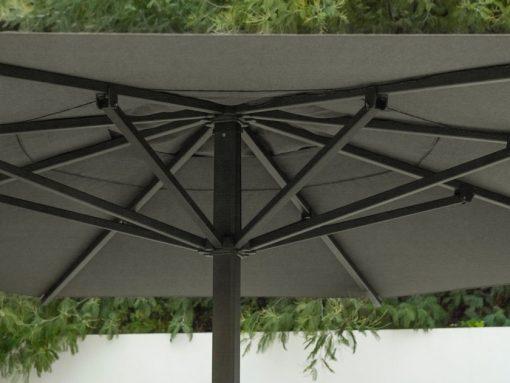 Jardinico JCP.201 Center Pole, Commercial Grade - Grey