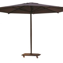 Jardinico JCP.201 Center Pole with Base, Commercial Grade - Brown