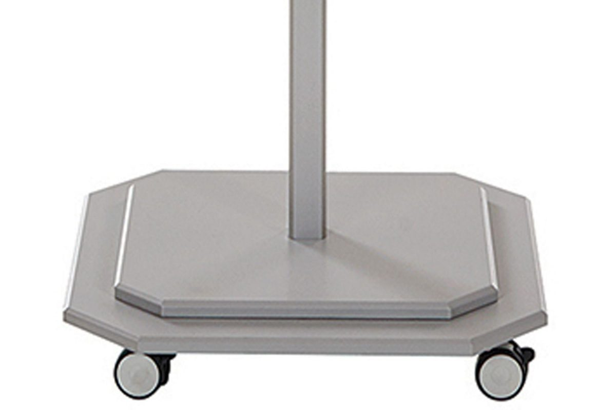 JCP.301 Jardinico Base with Wheels - Silver