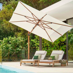 Jardinico JCP.301 Umbrella, Pool Side - White