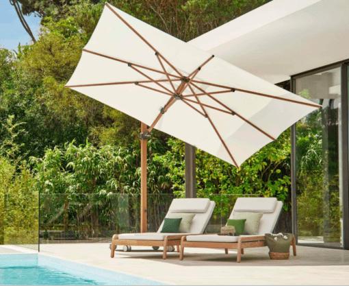 Jardinico JCP.301 Umbrella, Pool Side - White