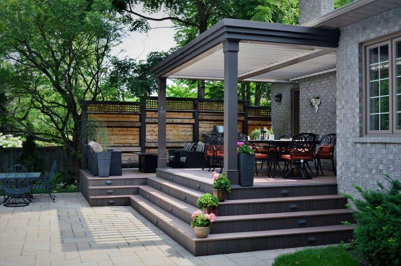 Struxure Pergola, Residential Grade - Dining Area