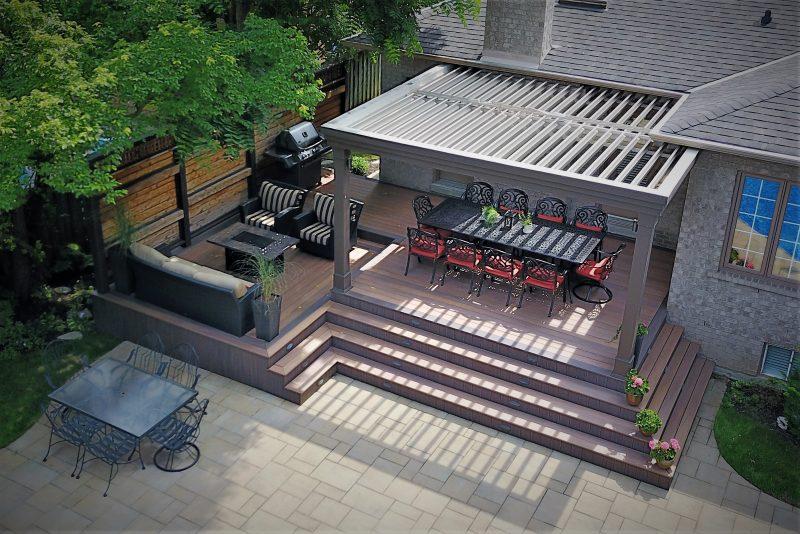 Struxure Pergola, Residential Grade - Dining