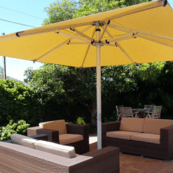 The Nova Giant Telescoping Umbrella - Yellow